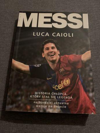 Ksiazka Messi
