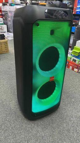 Портативная аккумуляторная Колонка чемодан с 2 микрофонами караоке JBL