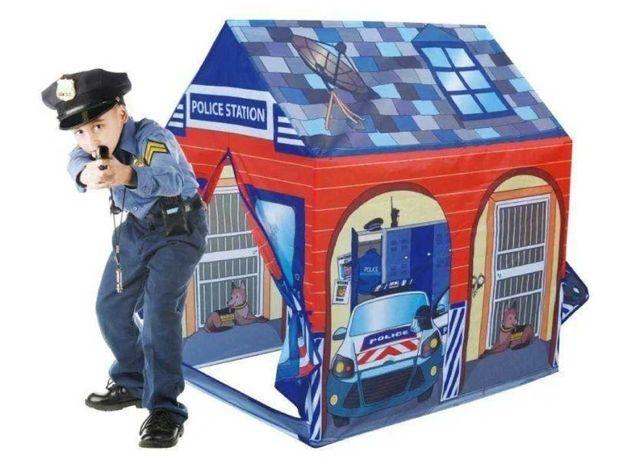 Детская игровая палатка домик Полицейский участок