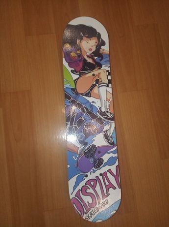 Скейтборд с принтом