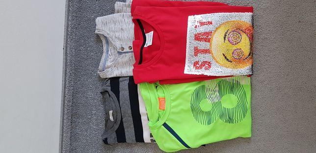 3 bluzy roz 164-170+ 1 t-shirt roz 158