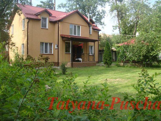аренда дома возле красивого леса и шикарного озера в Пуще-Водице