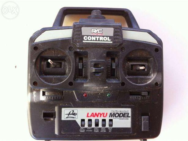 R/C expert built control Lanyu model 5 chanel