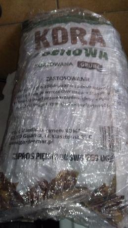 Kora sosnowa sortowana GRUBA 80 l , przesiewana
