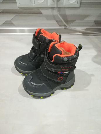 Новые термоботинки зима, термосапоги, ботинки зимние.