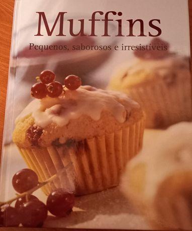 Livro culinária: muffins