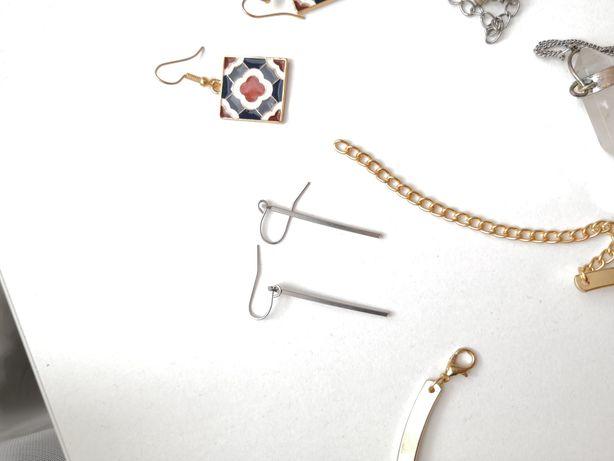 Сережки, браслеты, кольцо, часы, колье