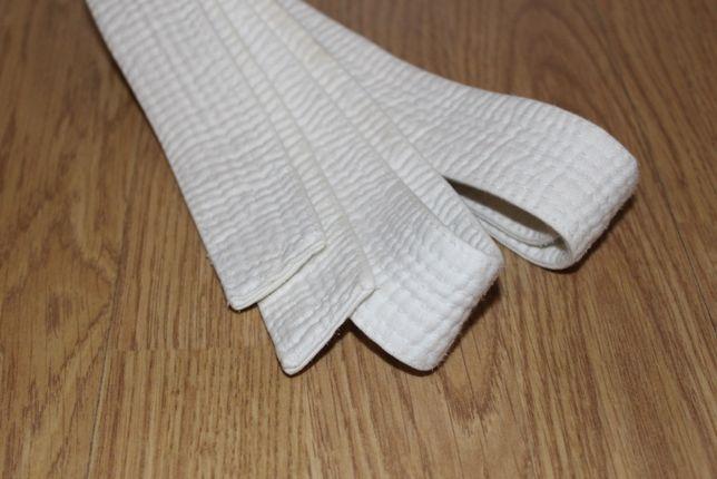 Biały pas karate/judo 192 cm