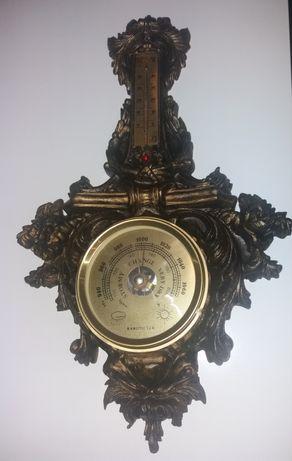 Stary barometr, termometr