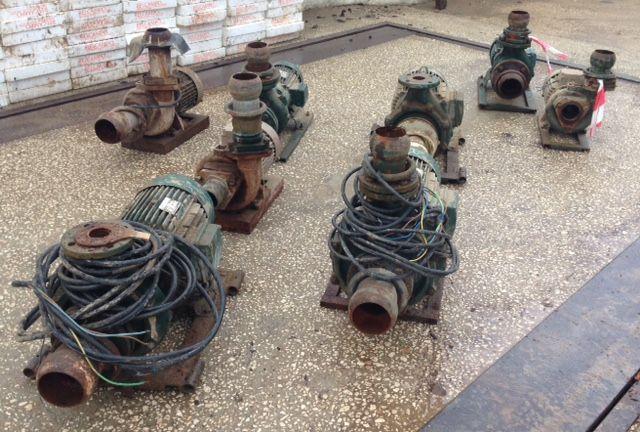 Motores de rega (Efacec, Caprari, Asea..)