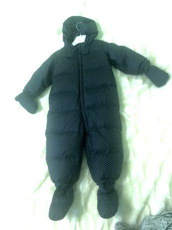Пуховий комбінезон, baby Gap, зимовий одяг