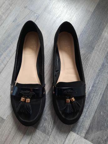 Czarne baleriny Primark rozmiar 37