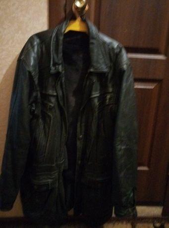 куртка кожаная мужская б\у