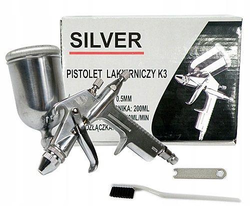 Pistolet Lakierniczy mini zaprawkowy z dyszą 0,5 mm