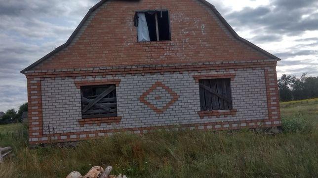 Продам недобудований будинок участок 10 соток по ул. Папирянская