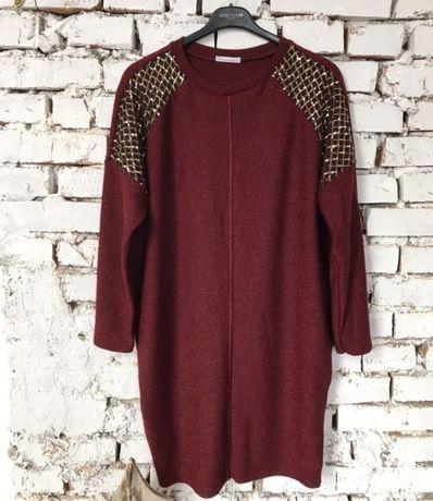 Шикарное женское платье р.58-60