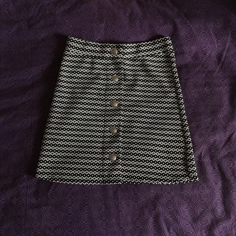юбка на пуговицах