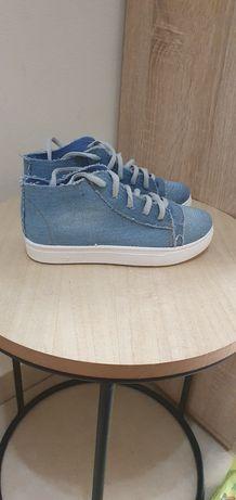 Trampeczki jeans  31 19cm nowe