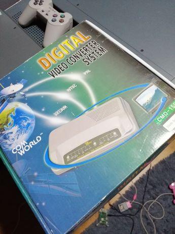 Converter Video PAL NTSC SECAM VHS Com World CMD-1500