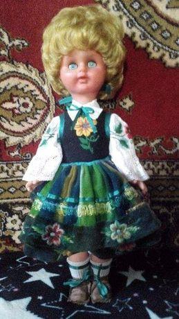 Кукла, немочка времен ГДР, винтаж, раритет, 52 см