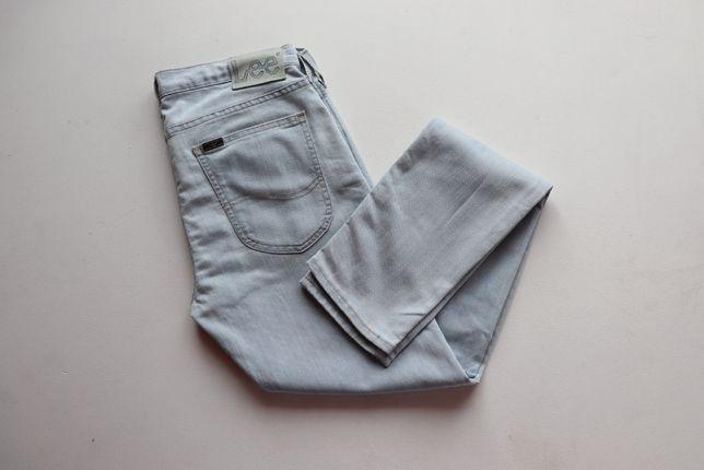 Spodnie męskie jeansy LEE Luke W33 L34. Stan idealny.