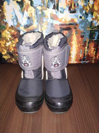 Сапоги зимние ботинки зимние 15 см Demar