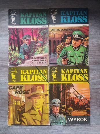 Kapitan Kloss komiksy zachowane w dobrym stanie. Klasyk. Wysyłka