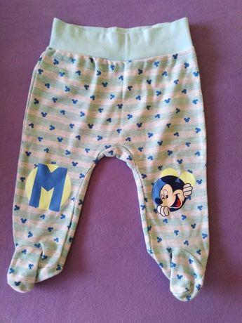 Spodnie niemowlęce 3 pary rozmiar 74