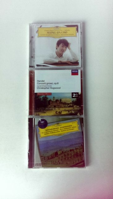 Chopin Handel Mendelssohn 4 nowe płyty CD