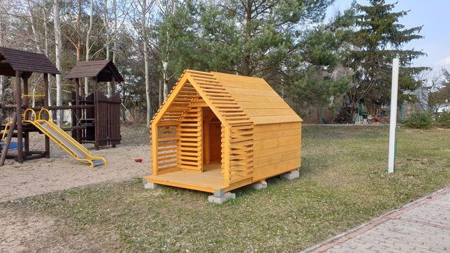 Domek dla dzieci plac zabaw domek drewniany domek ogrodowy