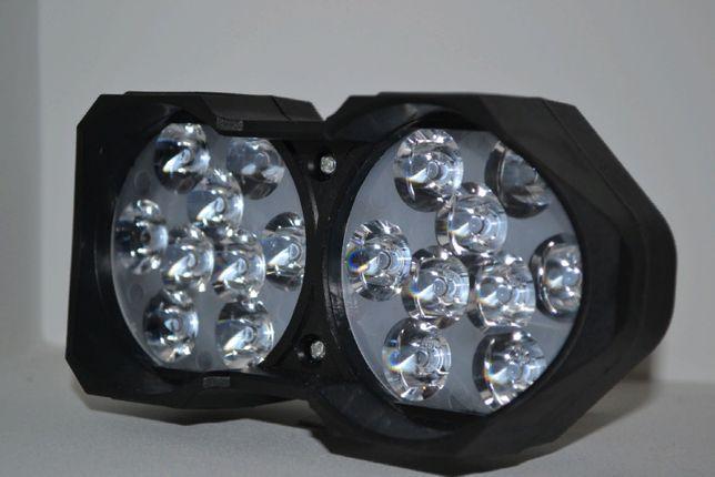 Дополнительная светодиодная фара 9-12V 30W 18 диодов