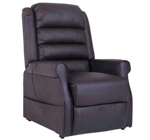 Fotel do masażu  Fotel do leżenia dla seniorów Czarny