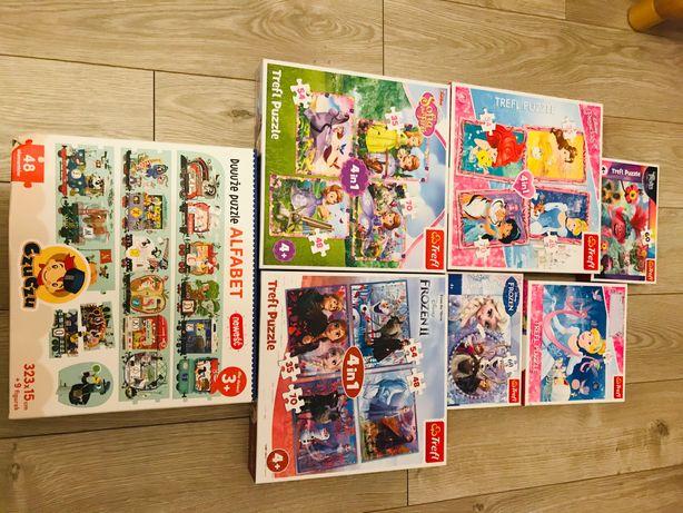 Puzzle i zabawki dla dziecka 3+ i 4+