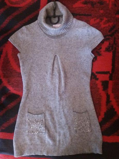 Туника теплая, платье, свитер