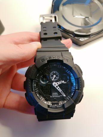Relógio tipo Casio G-Shock GA-100B-7AER novo