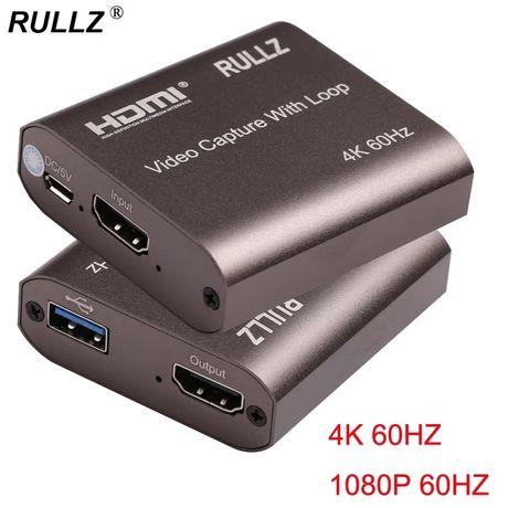 Rullz, карта видеозахвата, 4k 60 hz, 1080p 60hz