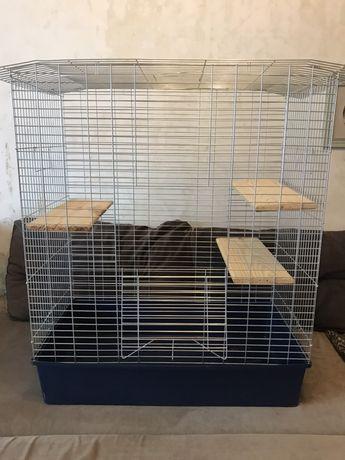 Клетка для шиншилл, хорька, папугая