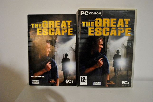 The Great Escape PC CD-ROM GRA