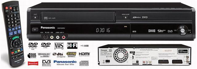 Nagrywarka DVD/VHS - Panasonic DMR EZ 49V_DIVX_HDMI