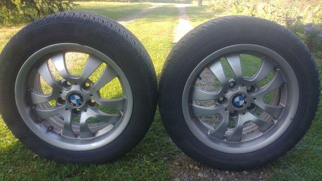 Alufelgi BMW z oponami