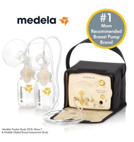 MEDELA молокоотсос електричний, двофазовий для двох грудей, новий