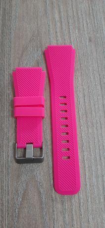 Bracelete de encaixe inteligente 22mm-compativel várias marcas-rosa