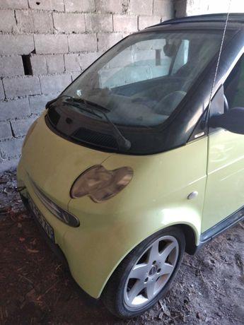 Smart 02 cabrio muito econômico
