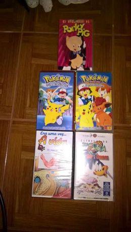 VHS Pokémon, Porky-pig, Bip-Bip e Coyote