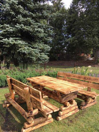 Meble ogrodowe, drewniane