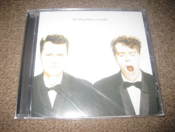 """CD dos Pet Shop Boys """"Actually"""" Selado/Portes Grátis!"""