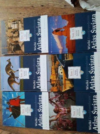 Książki Atlas Świata