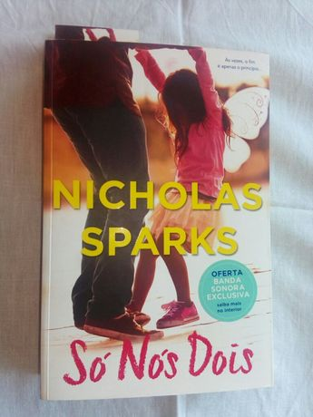 Livro Nicholas Sparks - Só nós dois