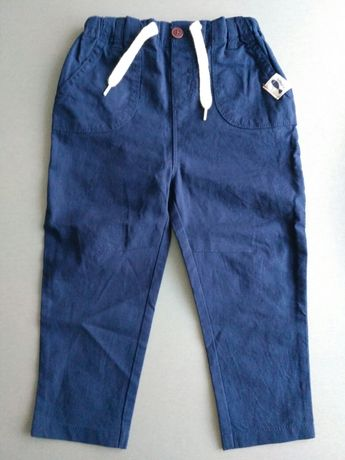 Przewiewne spodnie Lupilu - 86 - nowe