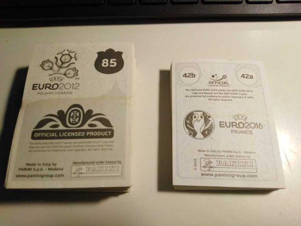 Cromos de Futebol Mundial, Euro e Liga Nacional